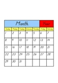 How to Assemble a Calendar