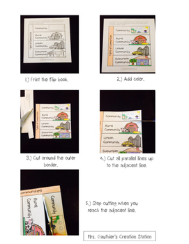 How to Assemble a Flip Book (for Interactive Notebooks) FREEBIE
