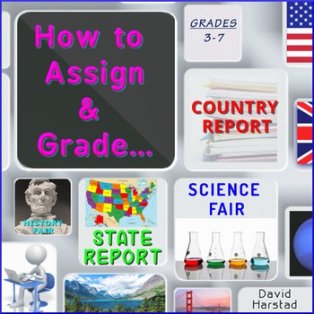 Language: How to Write State Report, Country Report, History & Science Fair