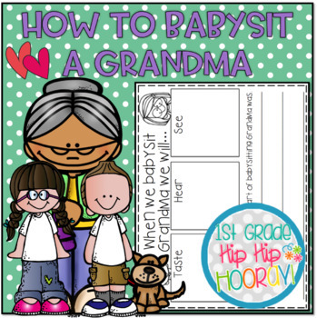 "How to Babysit Grandma...a ""How To"" Book Companion!"
