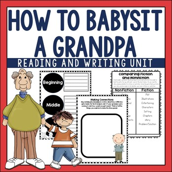 How to Babysit a Grandpa Guided Reading Unit by Jean Reagan