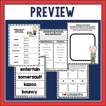 How to Babysit a Grandpa Guided Reading Unit