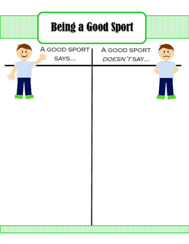 How to Be A Good Sport