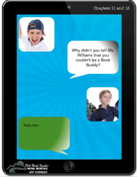 How to Be Cool in Third Grade Google Drive Interactive Notebook Novel Study