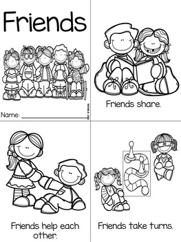 How to Be a Friend Poster, Book, Activities, Awards, and More