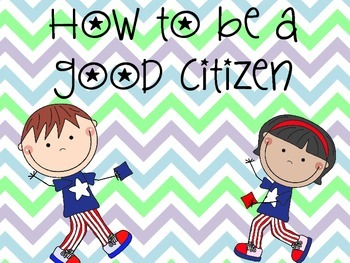 How to Be a Good Citizen PowerPoint