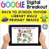 How to Be a Good Library Citizen - Digital Breakout for Primary Students