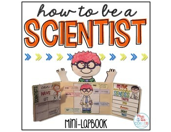 How to Be a Good Scientist Mini Lapbook { 6 foldables } Parts of a Scientist