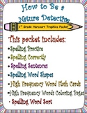 How to Be a Nature Detective: First Grade Spelling and Sight Words