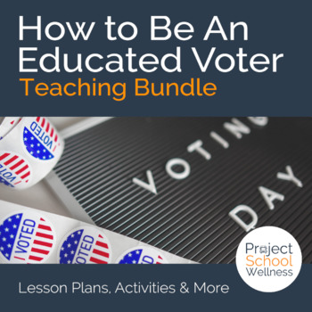 How to Become an Educated Voter! (Election Lesson Plans, Voting Lesson Plans)