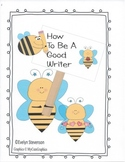 How to Bee a Good Writer Posters