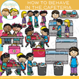 How to Behave in the Cafeteria Clip Art