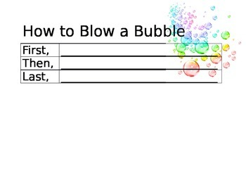 How to Blow a Bubble
