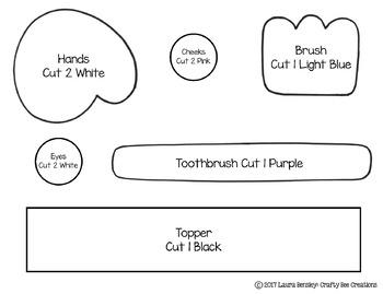 How to Brush Your Teeth Craftivity