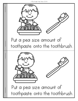How to Brush Your Teeth Emergent Reader