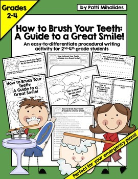 How to Brush Your Teeth: a Procedural Writing Activity for 2nd-4th Grade