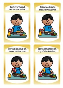 Life Skill/Special Education How to Build a Cheeseburger Deluxe Interactive