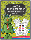 How to Build a Monster Reading, Writing and Craftivity