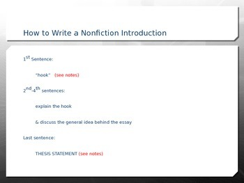 How to Build a Nonfiction Essay