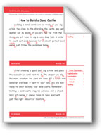 How to Build a Sand Castle (Gr. 5/Week 10)