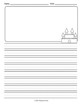 How to Build a Sandcastle Writing Templates