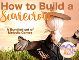 How to Build a Scarecrow {A bundled set of melodic games}