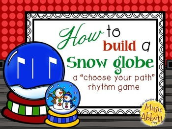 How to Build a Snow Globe, syncopa