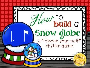 How to Build a Snow Globe, tam-ti/tom-ti