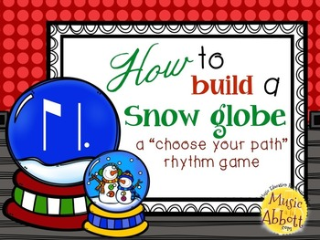How to Build a Snow Globe, ti-tam/ti-tom