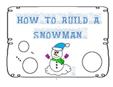 How to Build a Snowman Booklet