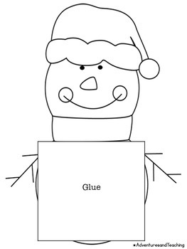 How to Build a Snowman Craftivity