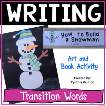 How to Build a Snowman - Craftivity and Mini Book {tempora