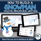 How to Build a Snowman Digital Procedural Writing for Goog
