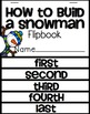How to Build a Snowman Flipbook