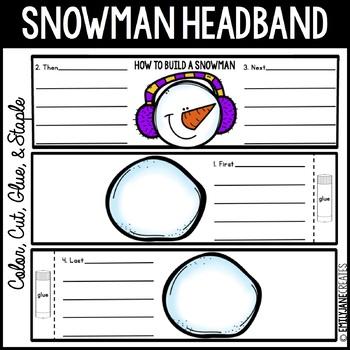 How to Build a Snowman Headband