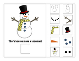 How to Build a Snowman Interactive Book