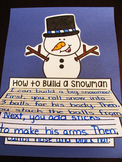 How to Build a Snowman Writing Winter Craft Activity