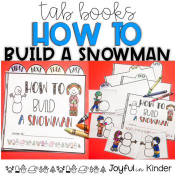 How to Build a Snowman {Tab Book}