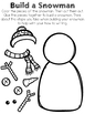 How to Build a Snowman Winter Writing Activity