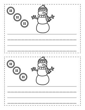 How to Build a Snowman Writing Book