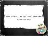 Band Curriculum Map Grades 4-12