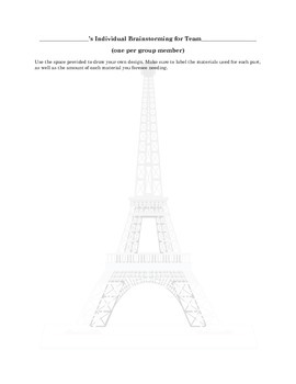 How to Build a Tower: Team Building, Problem Solving and Technical Writing