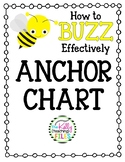 How to Buzz Effectively Anchor Chart