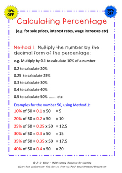 How to Calculate Percentages: Two Reliable Methods