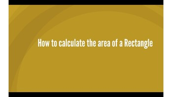 How to Calculate the Area of a Rectangle