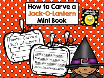 How to Carve a Jack-O-Lantern Craftivity