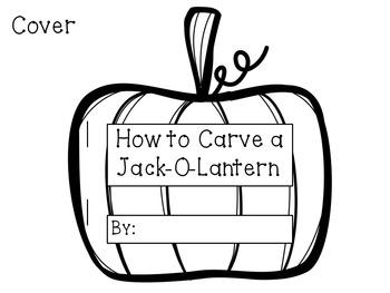 How to Carve a Jack-O-Lantern Craftivity