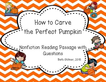 Nonfiction Pumpkin Passage