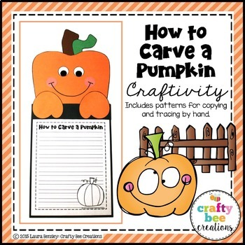 How to Carve a Pumpkin Craft