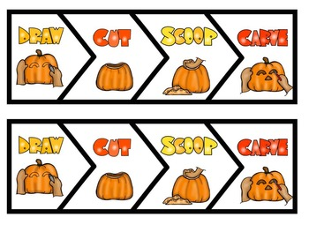 How to Carve a Pumpkin-Writing Activities